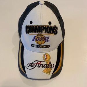 NBA LA Lakers 2010 NBA Finals Championship Hat
